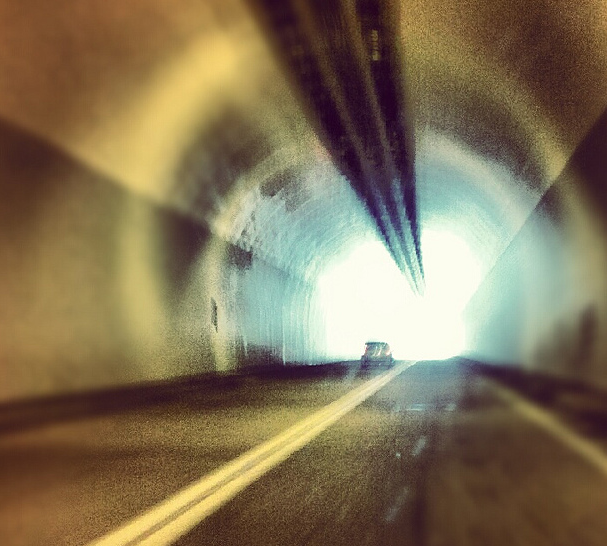 Writers, there is light at the end of the tunnel.