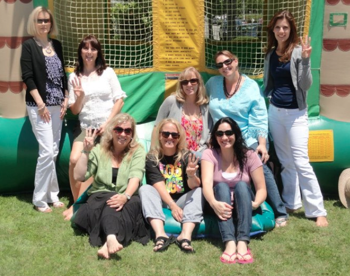 "I rented a bounce house for the WANAs in LA. Writing is a ""serious"" business after all."