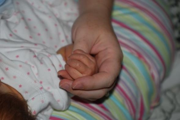 Myndi and first WANA Baby