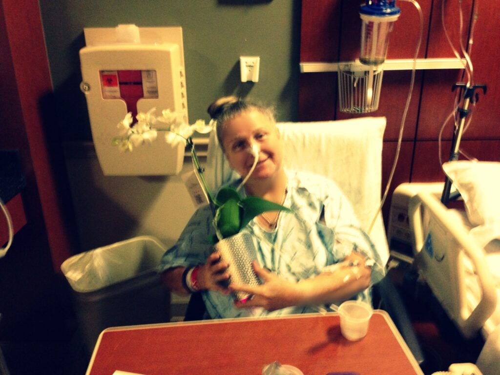 Mom won Miss Congeniality of Harris Southwest Hospital