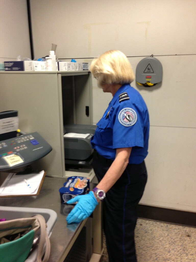 Completely ABSURD TSA searches NOT included.