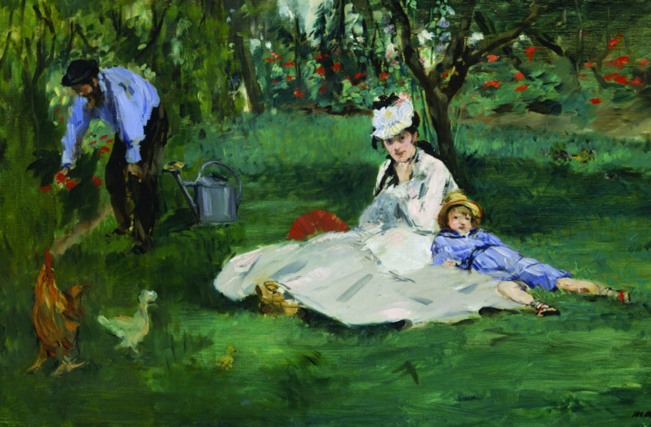 Manet 1874 via Wikimedia Commons