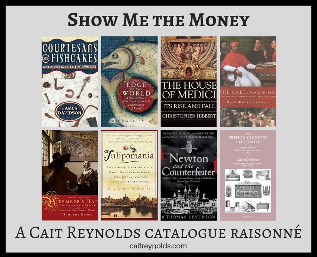 money, history, writing