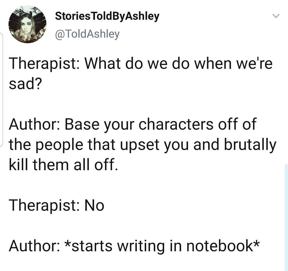 writers, serial killers, Kristen Lamb, humor
